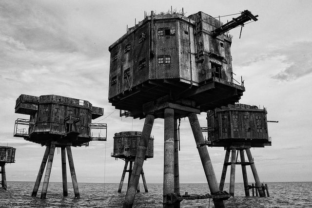 Maunsell Army Sea Forts | Flickr - Photo Sharing!