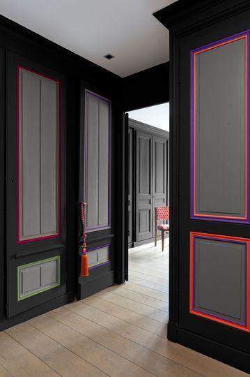 Couleur foncée : 12 belles couleurs de peinture sombre - Côté Maison