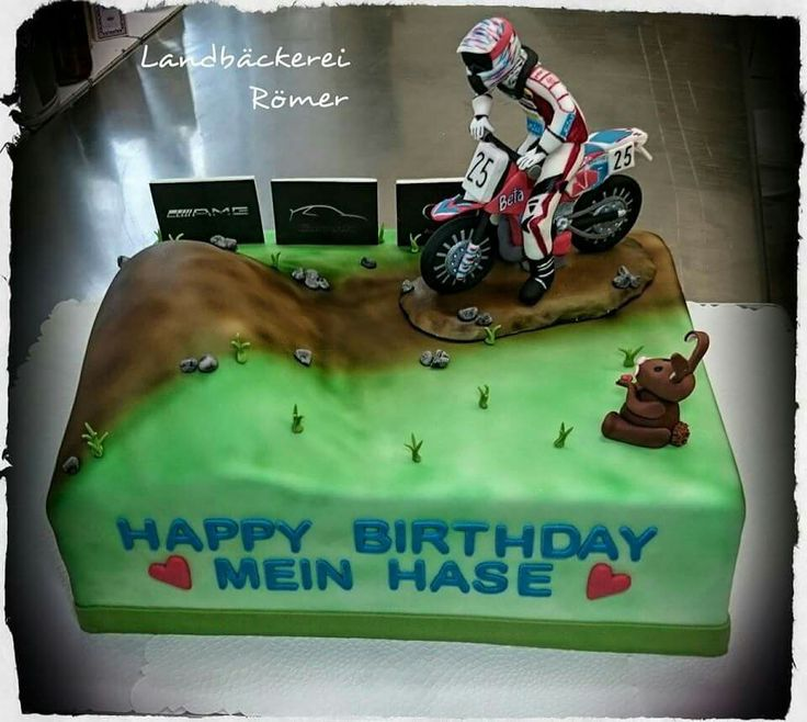 Motocross Cake Topper Tutorial