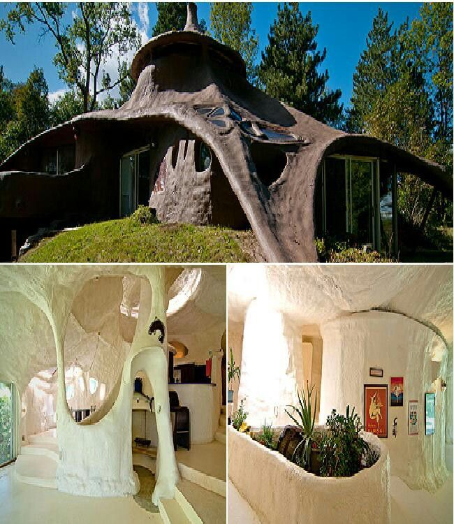 17 Best Images About Concrete Papercrete Foam Houses On