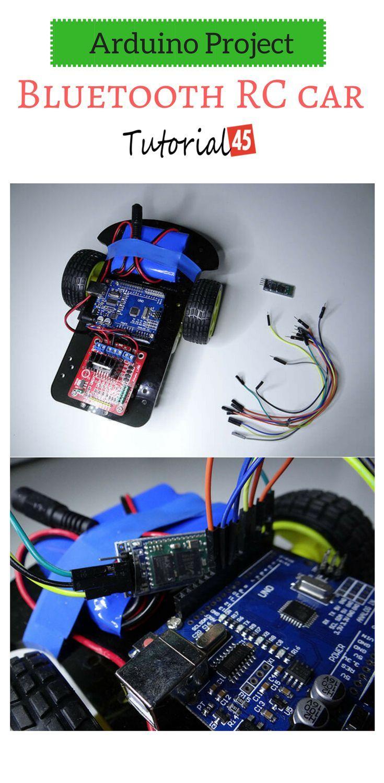 Arduino Bluetooth RC car project