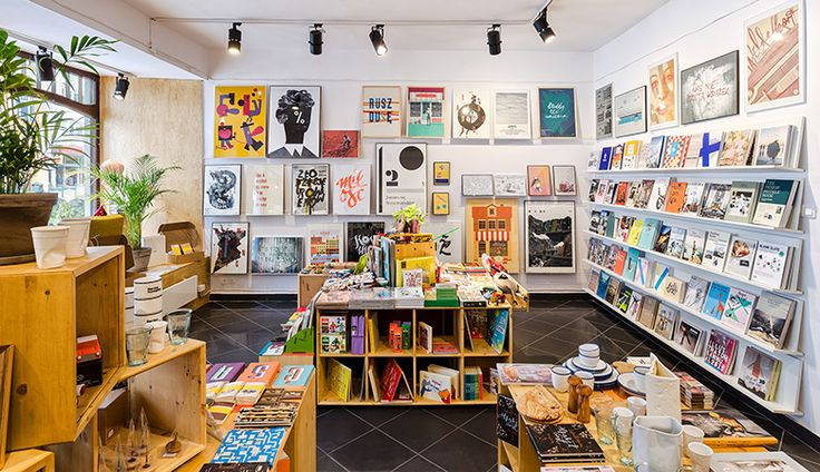 Łodz, Bardzo rozsadnie: jet sem :) parádní knížky a plakáty