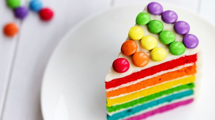 Unicornların tercihi: Rainbow (Gökkuşağı) Kek