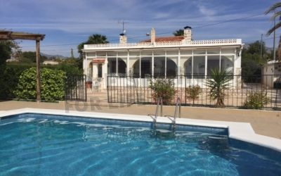 Reduced to 214000€! Traditional 5 bed 3 bath Spanish house with guest house and pool near Albatera Spain  Ref: Alba Castle