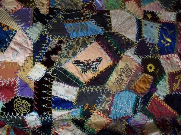 62 best Crazy Quilt Top images on Pinterest | Colors, Contemporary ... : how to make crazy quilt - Adamdwight.com