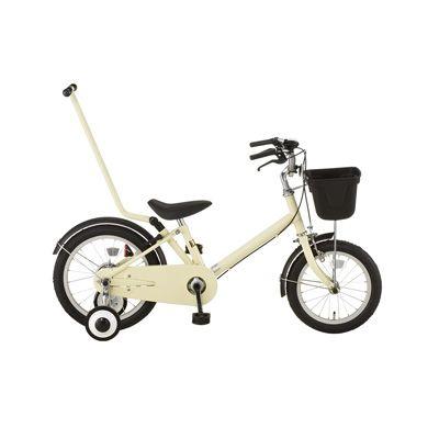 16型幼児用自転車・押し棒付き アイボリー | 無印良品ネットストア