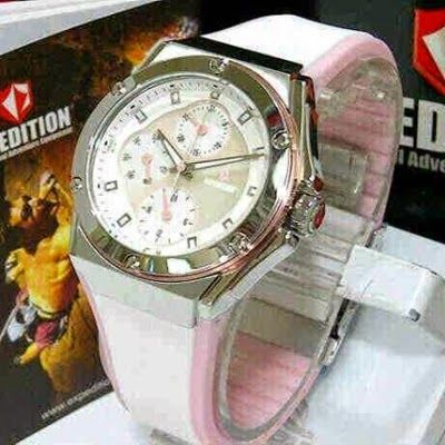 Jam Tangan Expedition E-6391 Silver White Pink RP 825,000 | BB : 21F3BA2F | SMS :083878312537