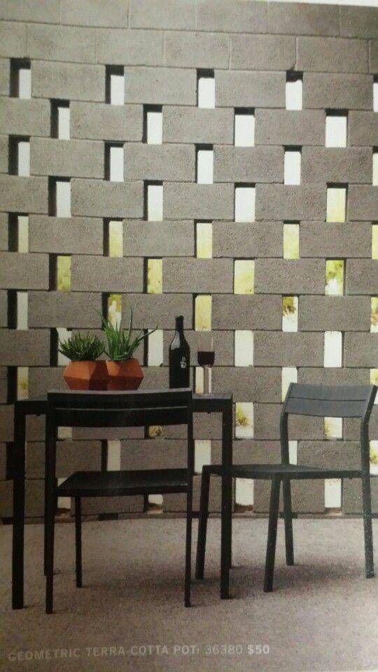 Best 25+ Block wall ideas on Pinterest | Timber screens ...