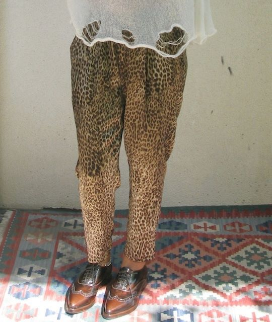 Pantalón leopardo marrón Onlyou Store   ► http://onlyou.es/store/ropa/pantalon-leopardo-marron