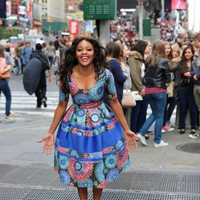 We love the way Thembi Seete wears our Thula Sindi dress! | You can buy it now on Spree