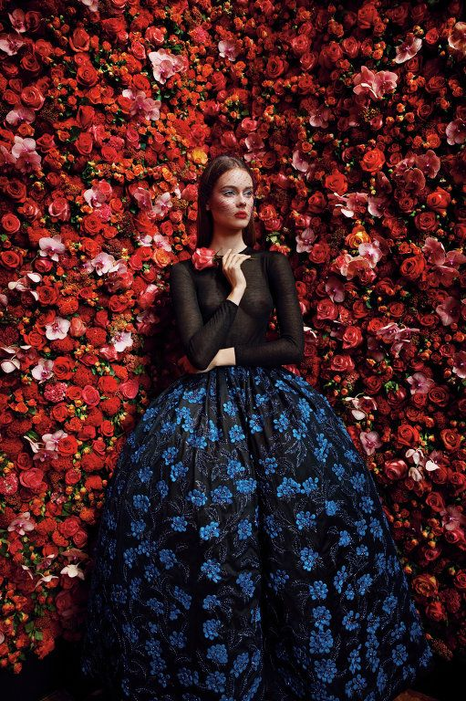 Christian Dior. Photo: Patrick Demarchelier.