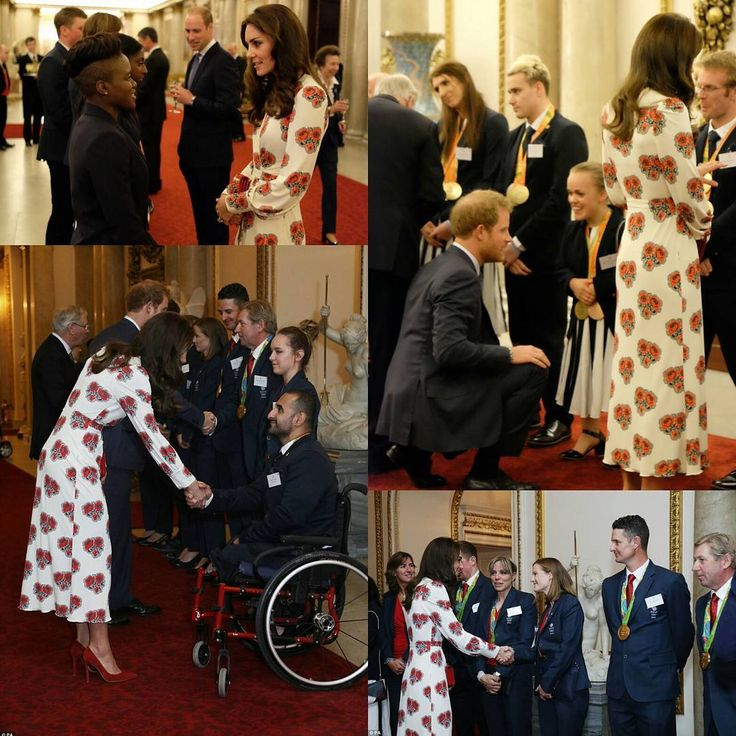 10/18/16 ♛ Reception for Team GB and Paralympics GB Medalists