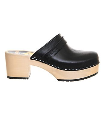 SHOP: The 70s clog is here to stay and Swedish Hasbeens have got some great styles. Wear with jeans until it gets too freezing.