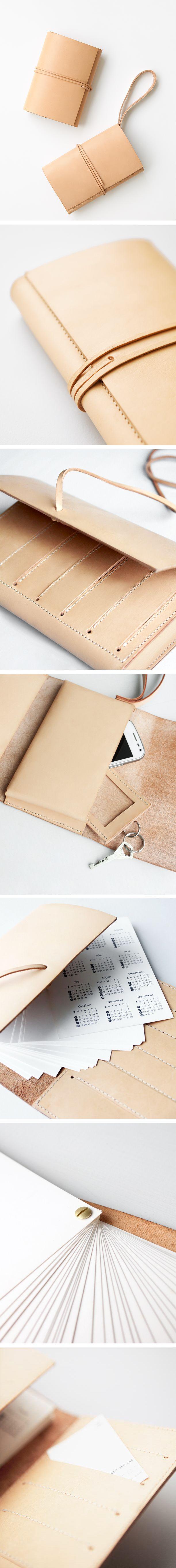Big bag collection- minttu somervuori calendar/notebook and a wallet