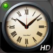 Clock Pro HD Free  By Alarm Clock Company
