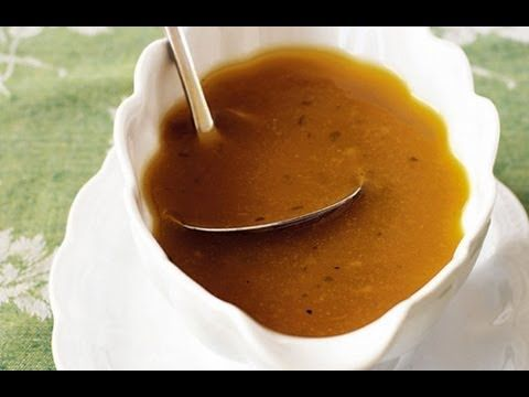 http://www.ThrillbillyGourmet.com Turkey Gravy Recipe, How to Make Turkey Gravy from Drippings, Recipe for Turkey Gravy   Problems with gravy? No more! This is the simplest, easiest method for making delicious, rich turkey gravy from your next bird! I also show you how to avoid most of the common problems - so your gravy will be silky, luscious and perfect!  For more information, visit http://www.ThrillbillyGourmet.com.