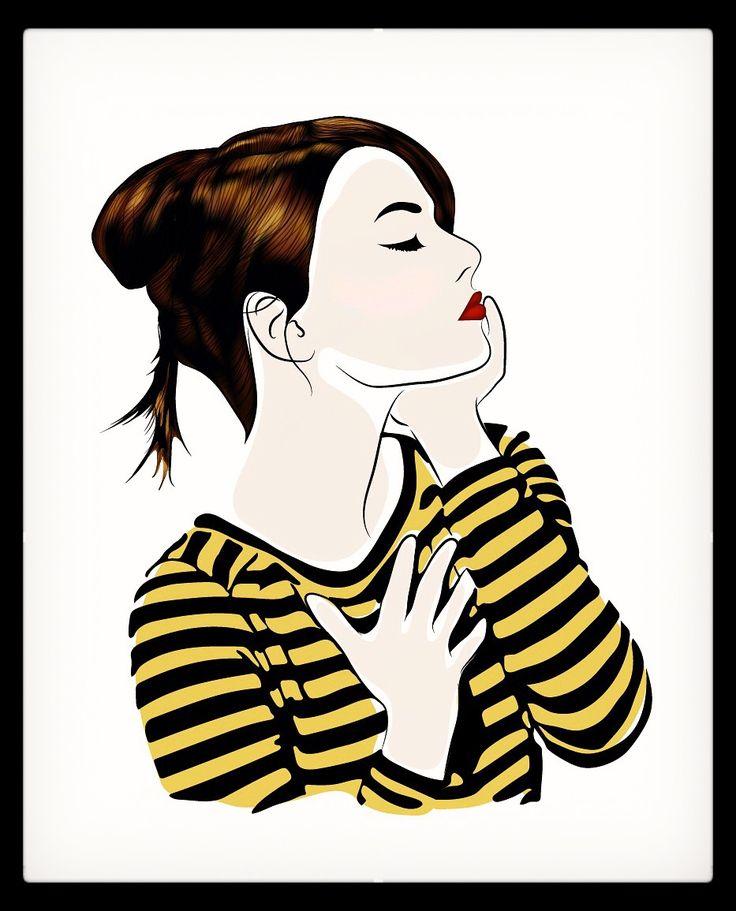 New #illustration — Emmazing #EmmaStone