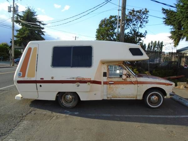 Toyota Chinook Camper Interior | Used RVs 1977 Toyota Chinook RV For Sale by Owner