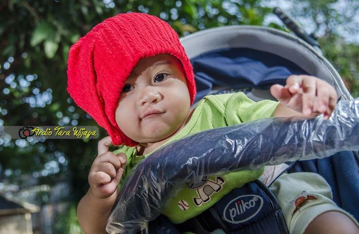 my Baby Red Kupluk Hat