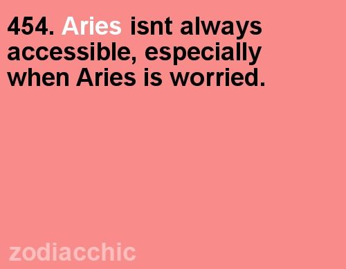 Have you seen your Aries horoscope for today yet??