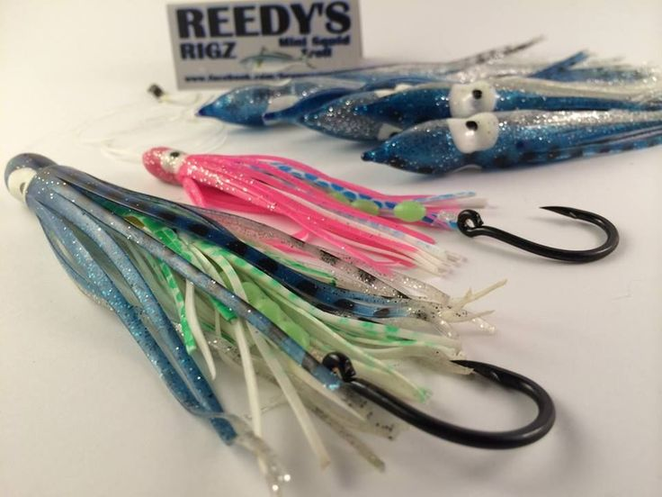 offshore skirted  lures trolling shiamno squids 15cm / 150mm