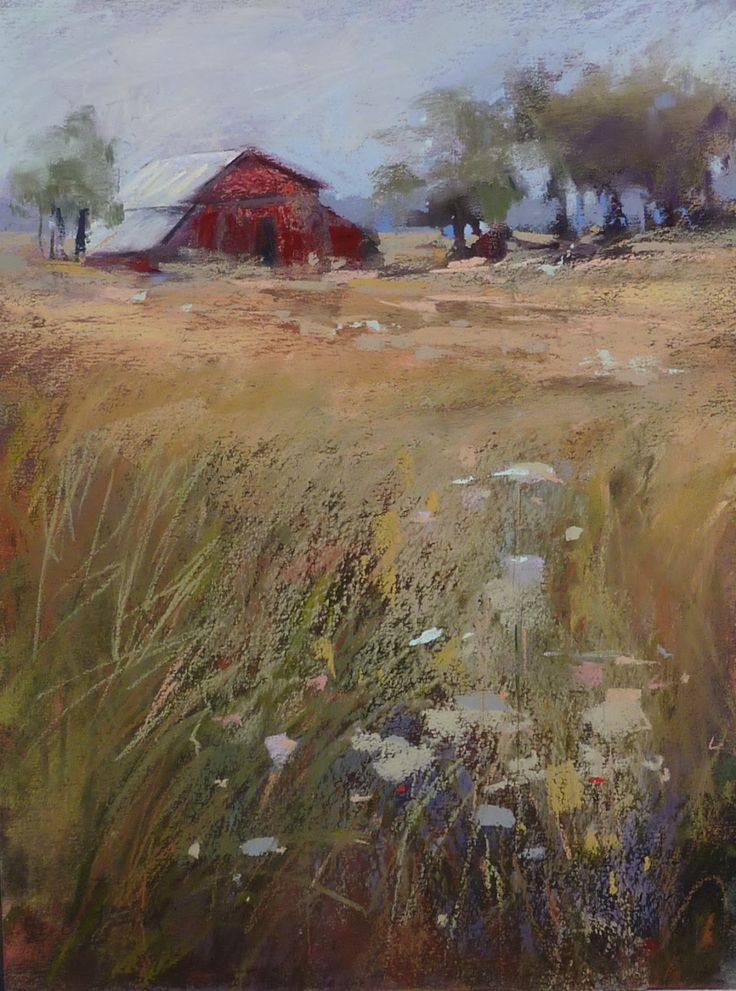 'Taking the Back Roads'     9x12     pastel   ©Karen Margulis  available at 50% off click here for sale paintings   It can...