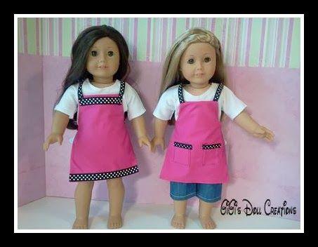 GiGi's Doll Creations: Link for free PDF doll apron pattern