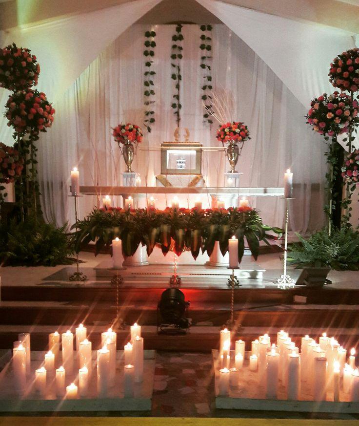 Monunento jueves santo parroquia San Jeronimo Cartago Colombia