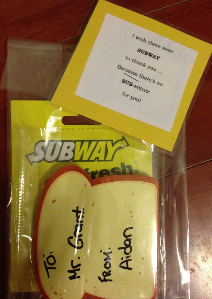 25+ unique Subway gift card ideas on Pinterest | Sunshine in a box ...