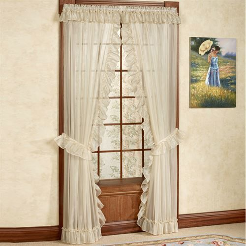 18 Best Romantic Ruffles Images On Pinterest Blinds Ruffled Curtains And Ruffle Shower Curtains