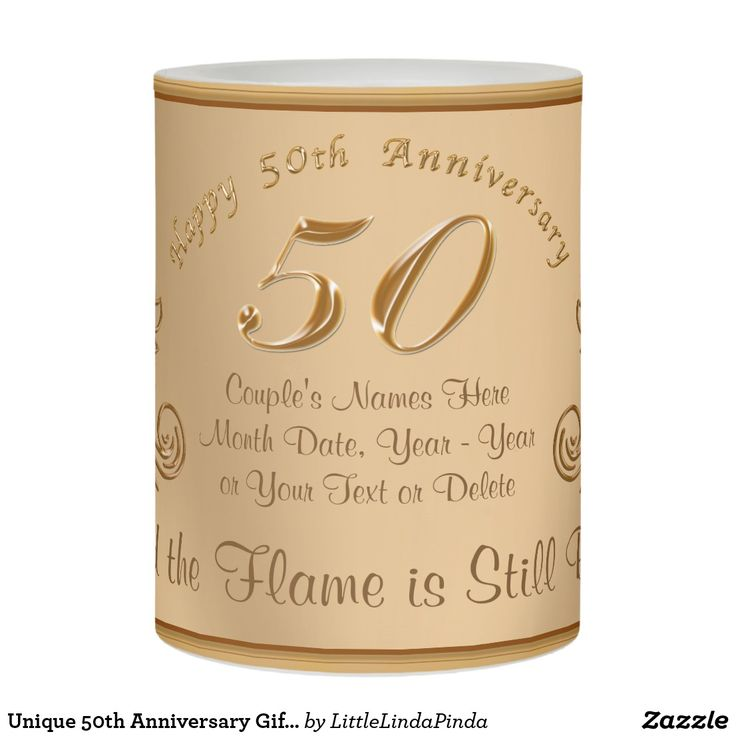Unusual 50th Wedding Anniversary Gifts: 25+ Unique 50th Anniversary Gifts Ideas On Pinterest