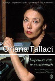 Kapelusz cały w czereśniach Oriana Fallaci