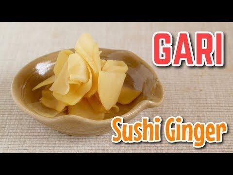 (165) How to Make Gari (Sushi Ginger) ガリ(生姜の甘酢漬け)の作り方 - OCHIKERON - CREATE EAT HAPPY - YouTube