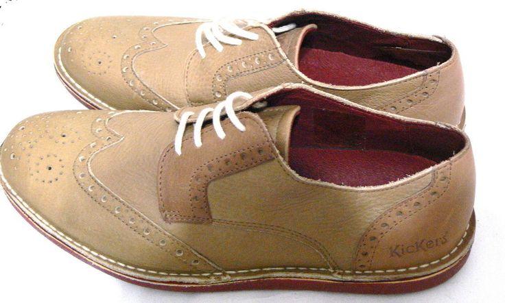 Kickers Men's Urbania Derby Oxford Laces Shoes Size 8.5 Euro 41 #Kickers #Oxfords