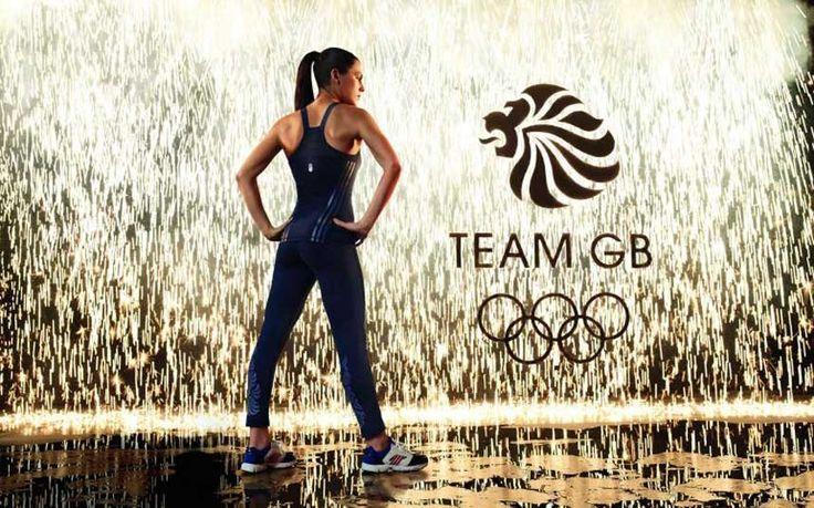 Team GB kit -  modelled by triathlete Holly Avil