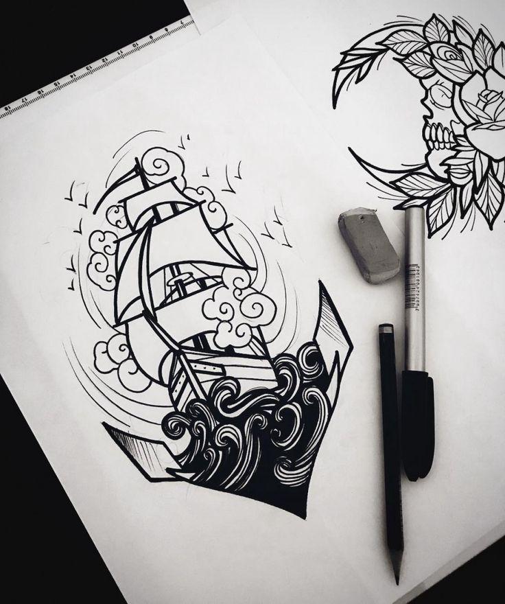 Follow for more #tattoos and #tattoodesings Os 15 desenhos mais curtidos do semestre no Drawi…
