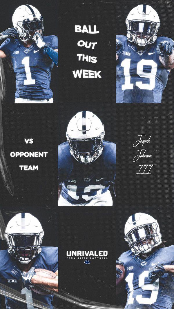 Penn State Football Fall 2019 Recruiting Design On Behance In 2020 Penn State Football Penn State Football