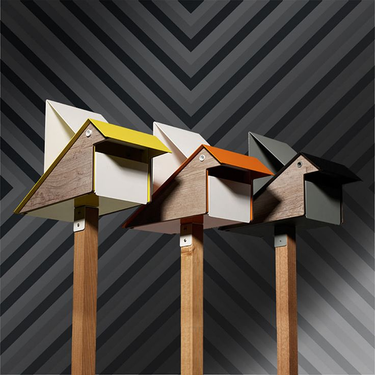 Who says modern can't have a sense of humor or a dash of whimsy? Certainly not Bill Playso, the head of the Australian lifestyle brand Playso. He designed the Koo Koo mailbox in a stylized shape of a bird to bring some fun to something that's normally relegated to simply functional.