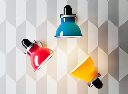 Anglepoise Type1228 wall light comes in 5 colours