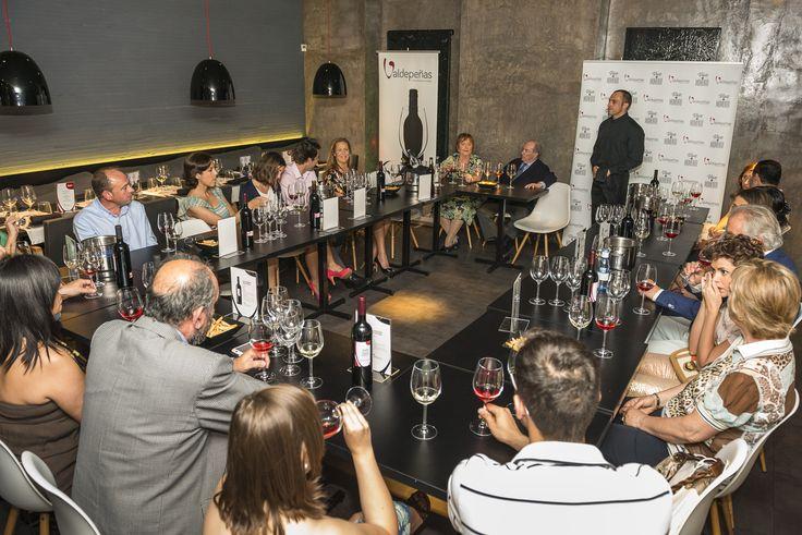 Catas en el Business & Wine de la DO Valdepeñas