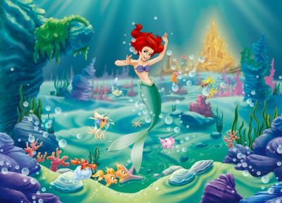 Fototapet Disney Mica Sirena Ariel