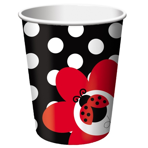 Ladybug Party Paper Beverage Cups