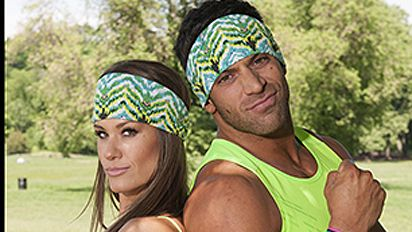 The Amazing Race 25: TNA Wrestling's @RobbieEImpact & @RealBrookeAdams in the Running