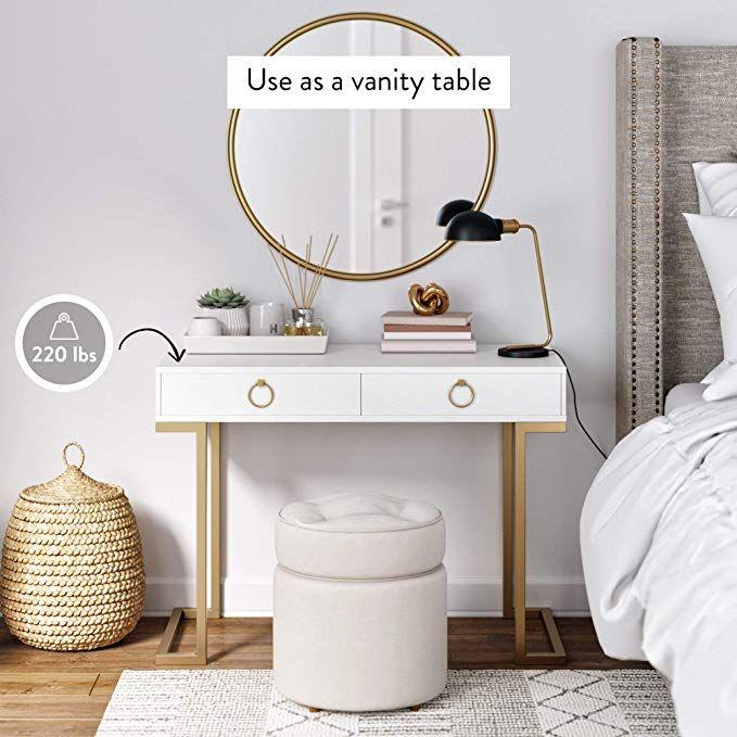 Amazon.com: Nathan James 53301 Leighton Two-Drawer Home