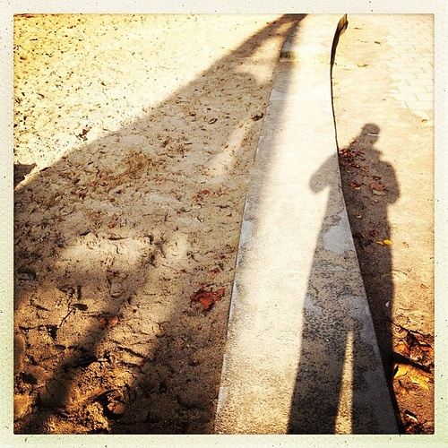Me and my shadows #hipstamatic