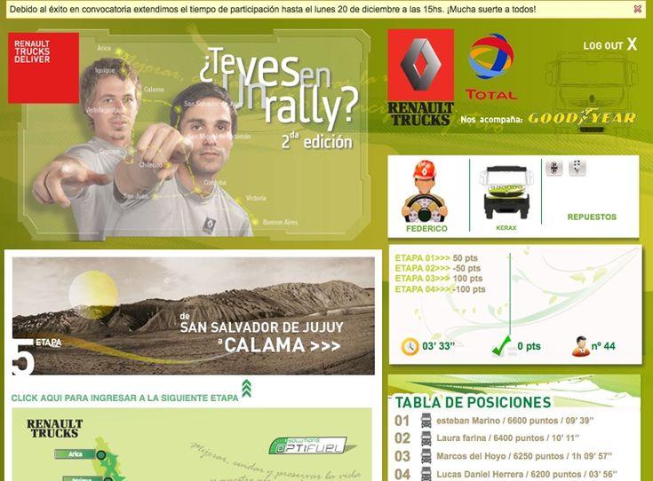 ¿Te ves en un Rally? Juego online sobre el Dakar 2011.