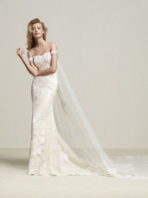 Elegant lace wedding dress - Dria
