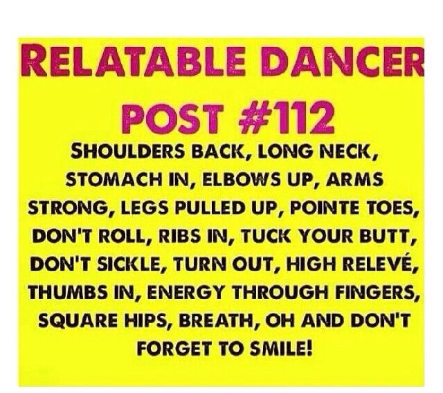 This is what we get told before we perform :)( and don't forget to smile is they only thing I ever remember:P)