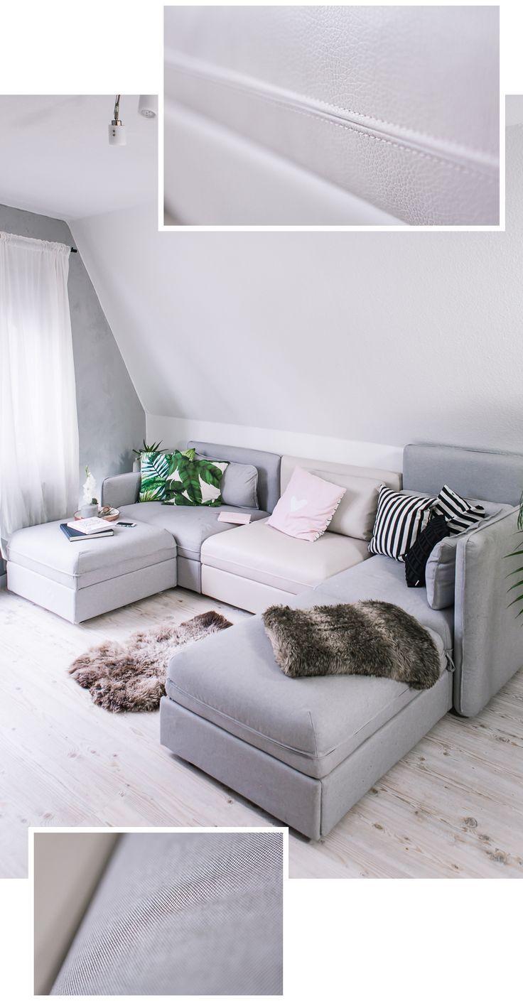 My new IKEA sofa VALLENTUNA and raffle Ikea sofa, Corner