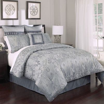 Buy Croscill 194 174 Maddox Queen Comforter Set From Bed Bath